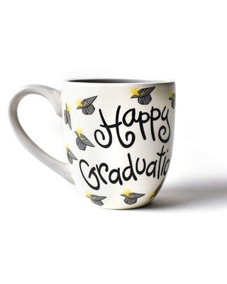 Coton Colors CC HEV-MUG-HGD Happy Graduation 4.25 Mug White
