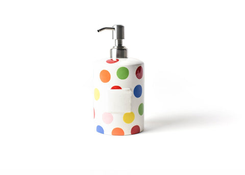 Coton Colors CC MINI-CSP-MLT Bright Dot Mini Cylinder Soap Pump
