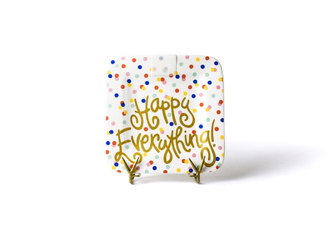 Coton Colors CC HEV-9.25PL-HDT  Happy Dot Happy Everyhting 9.25 Mini Platter