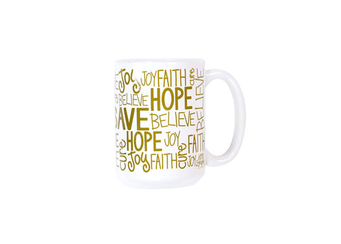 Coton Colors CC-HAPEV-15MUG-S16 2016 Limited Edition Happy Everything Inspire 15oz Mug