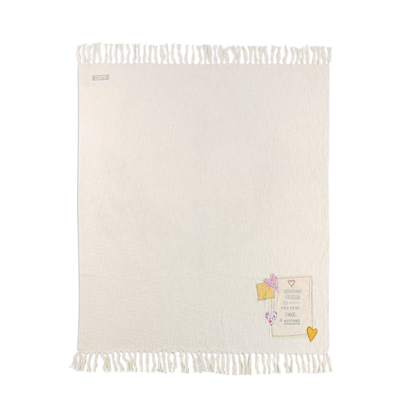 DEMDACO 1002720459 Soul Care Throw Blanket 50x60