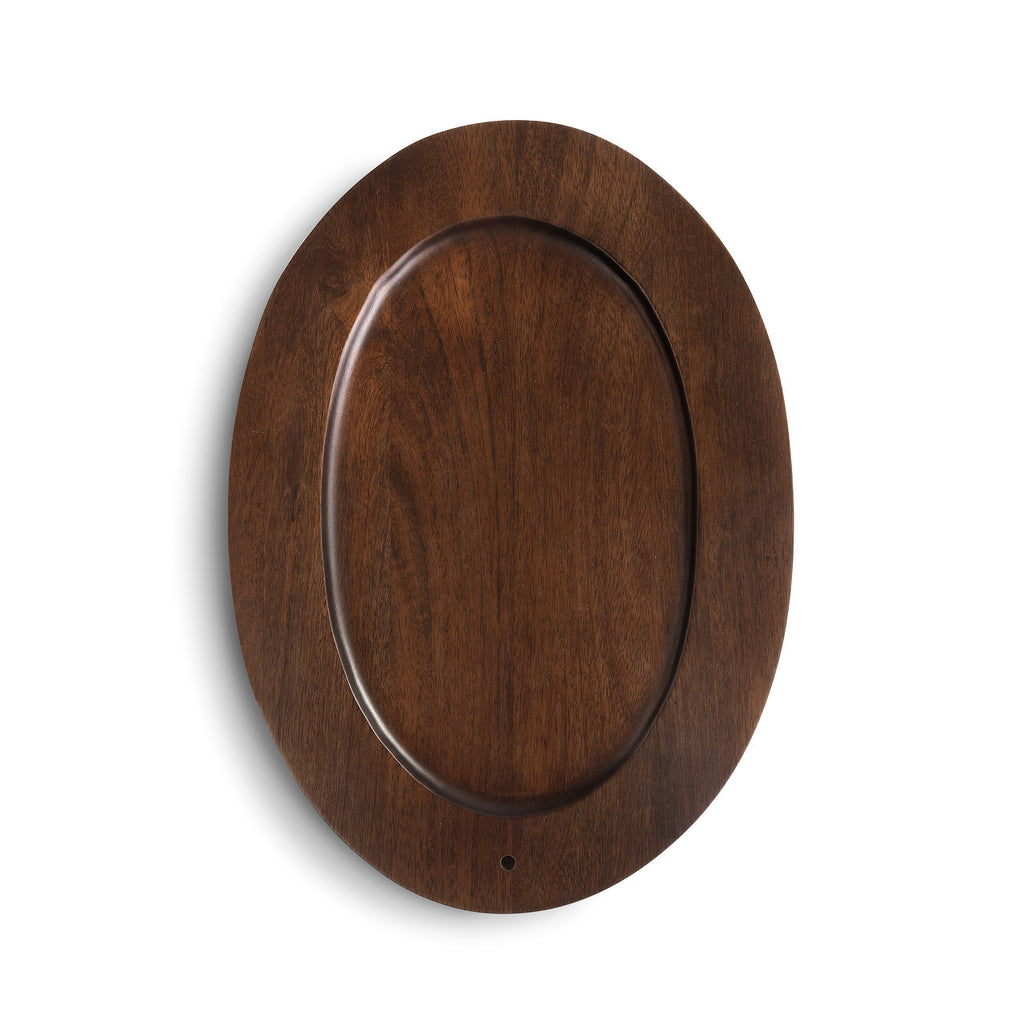 DEMDACO 1004260141 Oval Wood Platter
