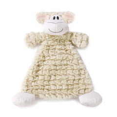 DEMDACO 5004700208 COZ Langley Lamb Rattle Blankie