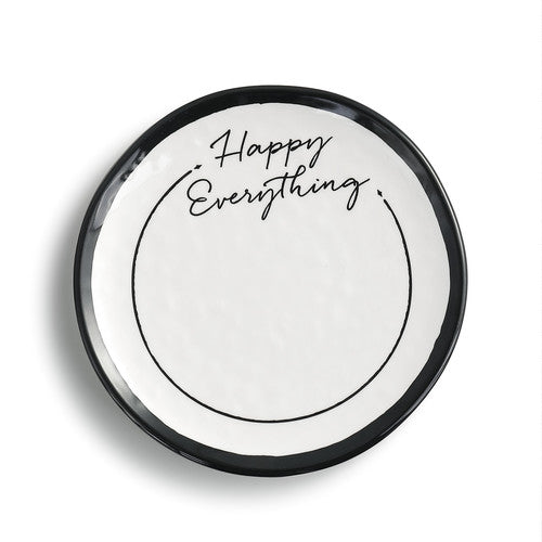 DEMDACO 1004100027 Happy Everything Dessert Plate-6""