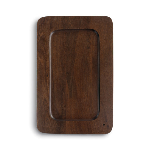 DEMDACO 1004260140 Rectangle Wood Platter