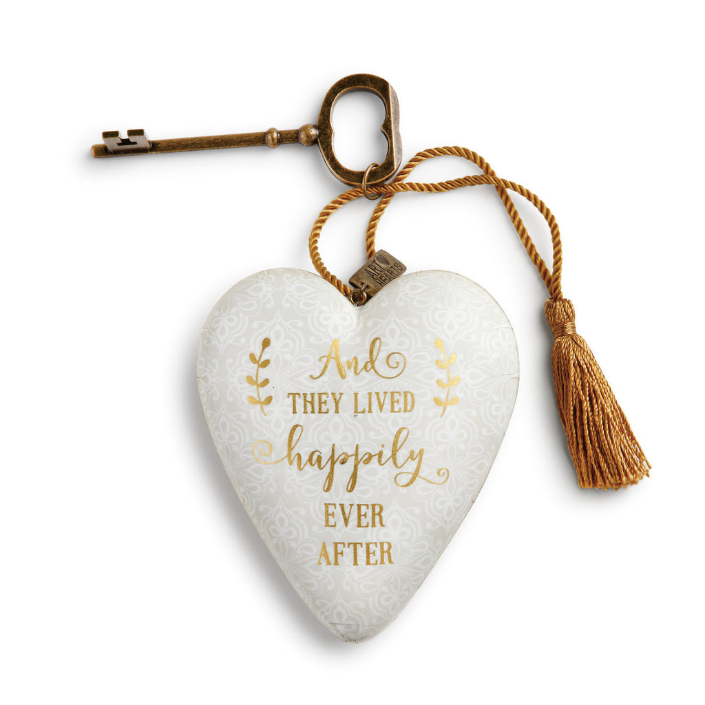 DEMDACO 1003480118 Happily Ever After Art Heart