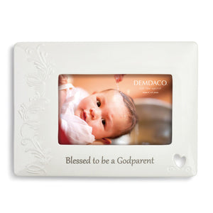 DEMDACO 5004700720 Blessed to be a Godparent Frame