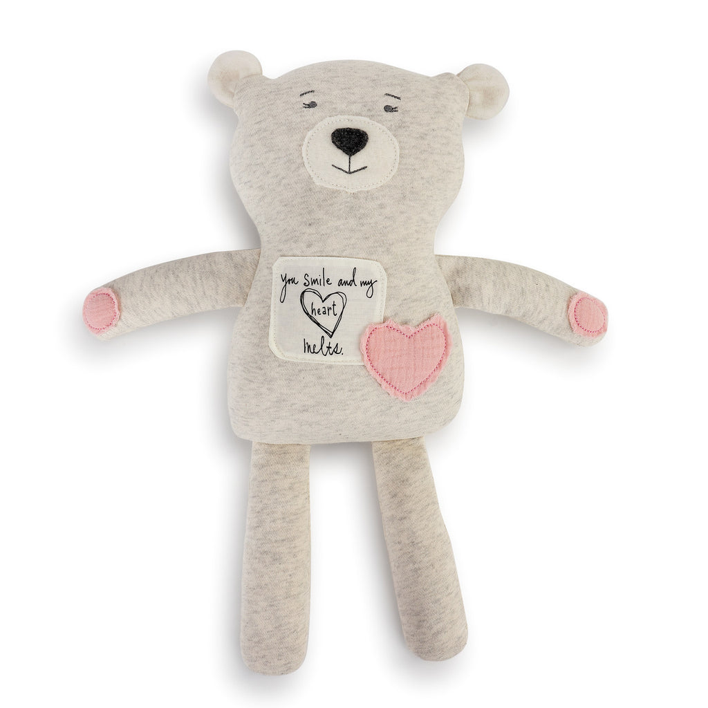 DEMDACO 5004700812 Poetic Threads Bear-Girl