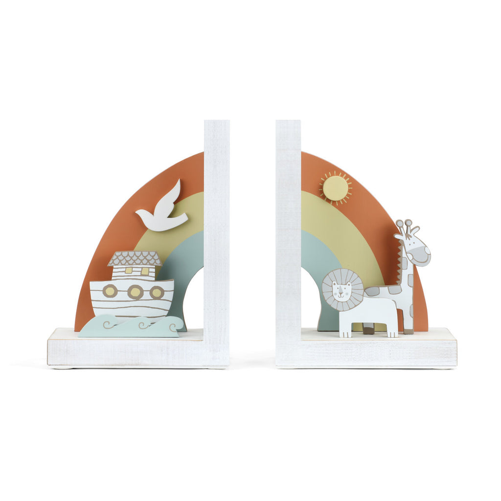 DEMDACO 5004700918 Noah's Ark Bookends