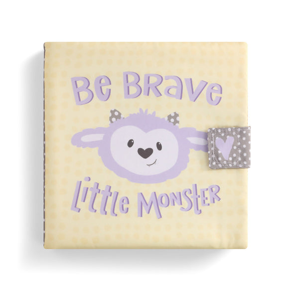 DEMDACO 5004700809 Be Brave Little Monster Soft Book