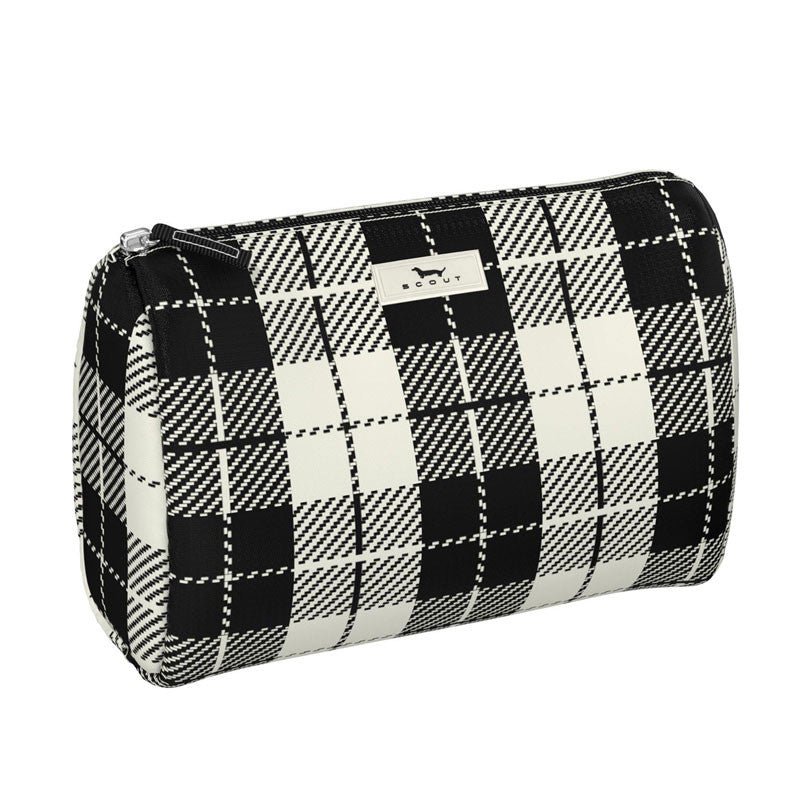 Scout 21103 Packin Heat Plaid Habit Makeup Bag