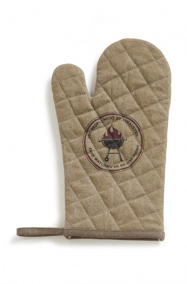 Mona B M-5640 Exhausted Oven Mitt