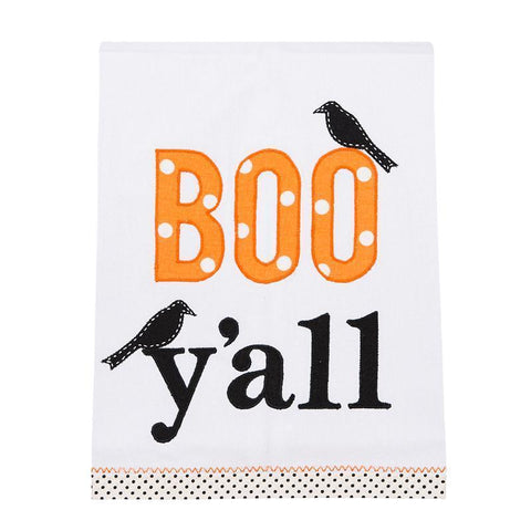 Glory Haus Inc. GH 7090509 Boo Y'all Tea Towel