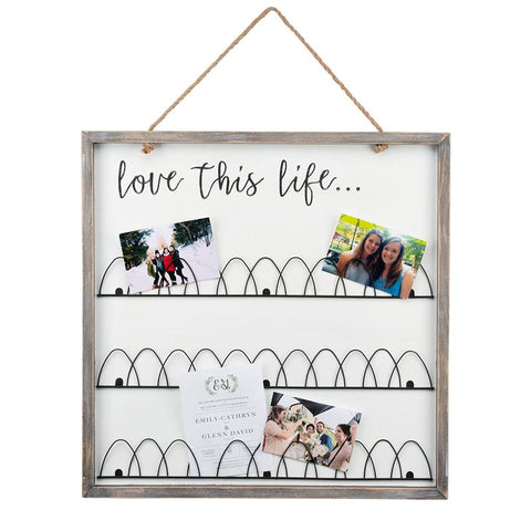 Glory Haus Inc. GH 34100502 Reversible Wire Photo Board