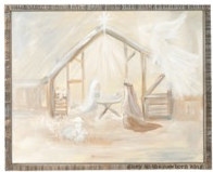 Glory Haus Inc. GH 1191605 Glory To The Newborn King Framed Canvas