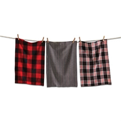 TAG T 208723 Lodge Woven Dish Towel Set of 3