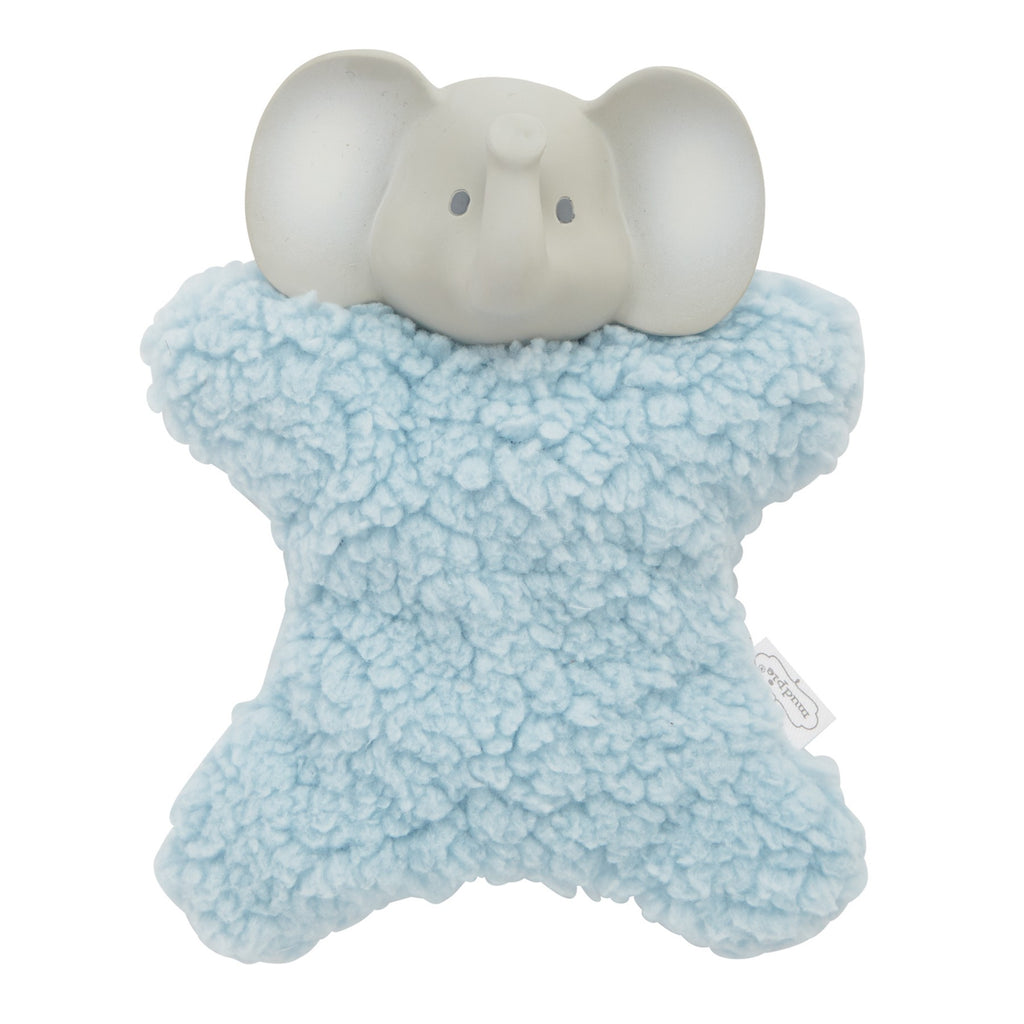 Mud Pie MP 12110078E Elephant Plush Teether