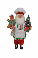 Karen Didion KD CC16-195 Gingerbread Magic Santa