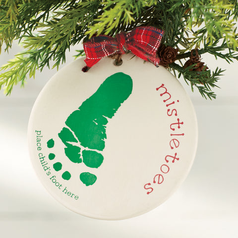 Mud Pie MP 16700005 Mistletoes Ornament