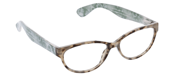 Peepers 2498225 Dream Weaver-Gray Tortoise/Green +2.25