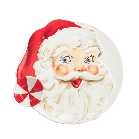 Mud Pie 41800019 Santa Chip and Dip