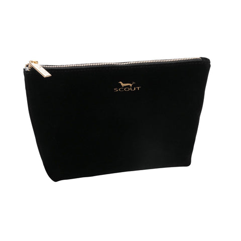 Scout 23536 Twiggy  Make Up Bag - Black Velvet