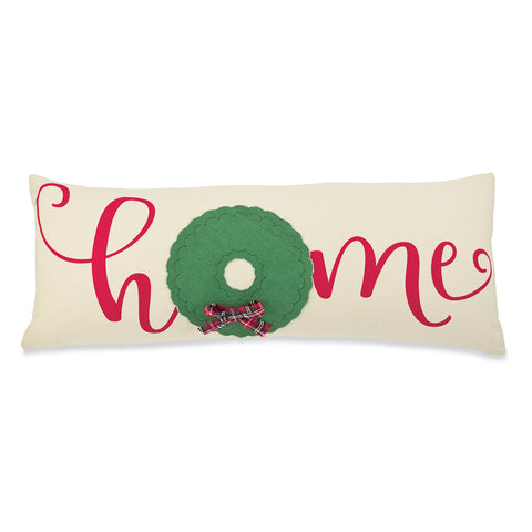 Mud Pie MP 41600258H Home Canvas Tree Pillow