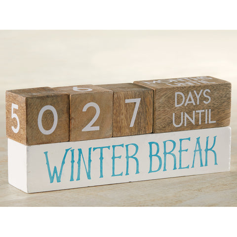 Mud Pie MP 4262004 Teacher Break  Countdown Blocks