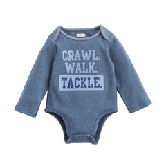 Mud Pie MP 11030191T Tackle Crawler 0-6 Months