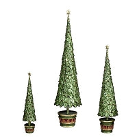 Dekorasyon Gifts DG  Neo Holly Topiary Tree (Olive Dream)