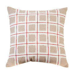 "Raz Imports RZ 3945505 16"" Plaid Pillow"
