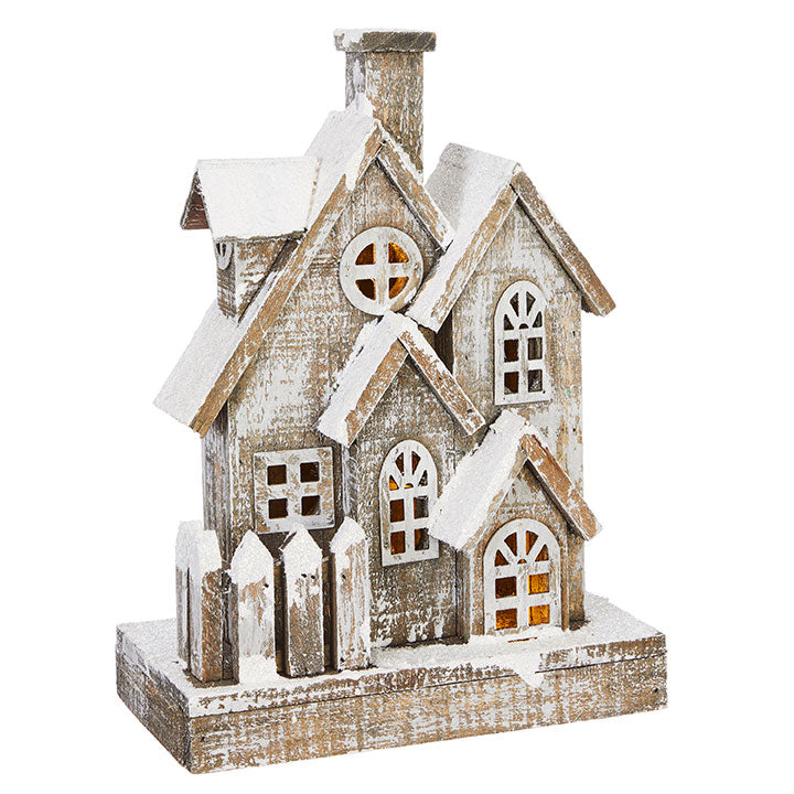"Raz Imports RZ 3917260 13"" Lighted House"