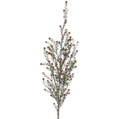 "Raz Imports RZ F3922655 47"" Snowy Boxwood and Berry Spray"