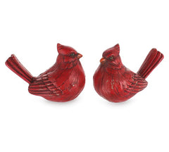 burton + BURTON BB 9736880 Distressed Red Cardinal Figurine