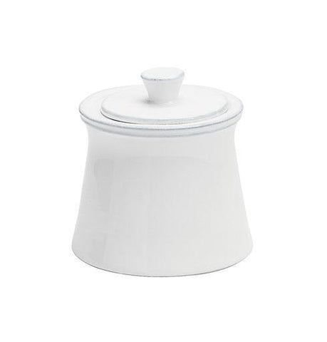 Casafina CF FIX121-02202F Costa Nova Friso White - Sugar Bowl