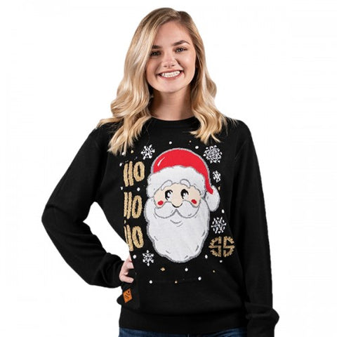 Simply Southern SS PP-0192-SWEATER-SANTA Ladies Sweater