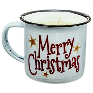 Swan Creek Candle Co SCC 00963 Festive Mini Mug Home For The Holidays Scented Candle