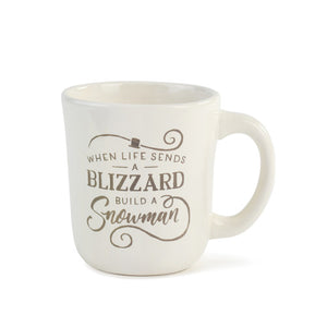 Demdaco 2020190253 When Life Sends a Blizzard Mug