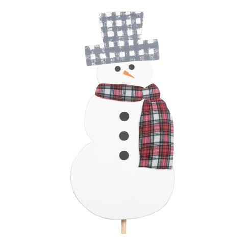Glory Haus Inc GH 33110507 Snowman Topper