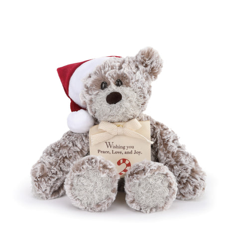 DEMDACO 5004700902 Mini Giving Bear-Christmas