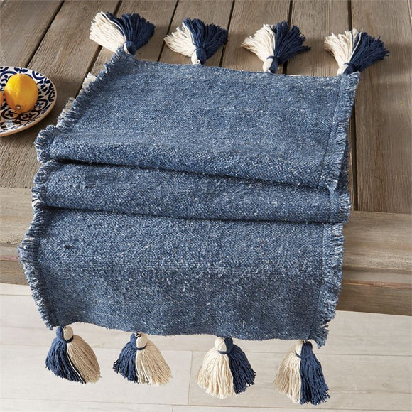 Mud Pie MP 43900041 Ponchaa Table Runner