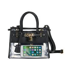 PurseN PN GDB4 In Chic Stadium Bag - Black