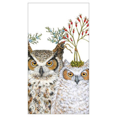 Paperproducts Design PD 1413590 Guest Towels - Holiday Hoot