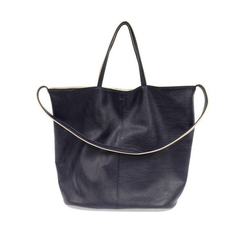 Joy Accessories Inc. JA L8057 Riley Reversible Slouchy Tote