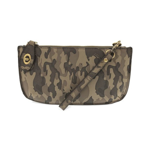 Joy Accessories Inc. JA L8056 Camo Crossbody Wristlet Clutch