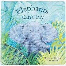 Jellycat Inc JI BK4ECFUS Elephants Can't Fly Book