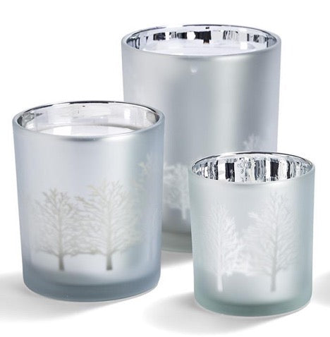 Two's Company TC 8957-20 Tree Silhouette Candle Holders