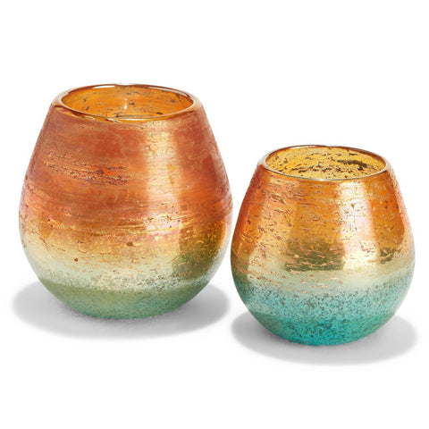 Twos Company TC PDA102-S2 Pacific Sunset Candle Holder