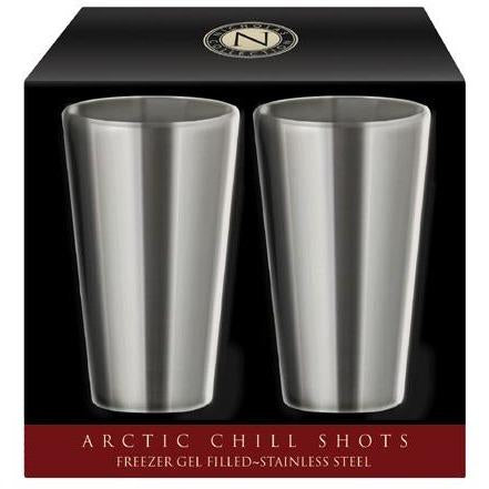 CorkPops CP 00935 Stainless Steel Arctic Chill Shot Glass