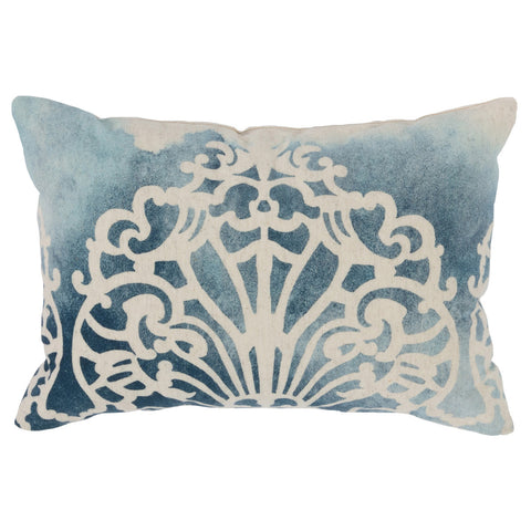 Classic Home CH VE40012 Levantine Navy Blue Pillow